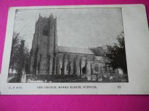 VINTAGE POSTCARD L.P. & CO 211 THE CHURCH MONKS ELEIGH SUFFOLK UNPOSTED